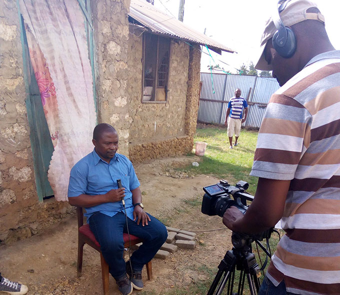Documenting community experiences using #STDM for enumeration in Kwa-Bulo settlement, Mombasa