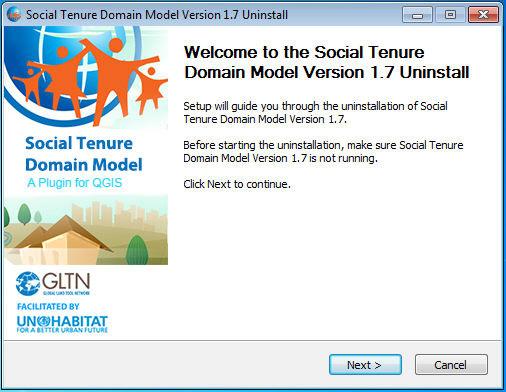 Uninstalling QGIS for STDM | Social Tenure Domain Model (STDM)
